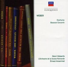 Ernest Ansermet - Weber: Overtures / Basson Cto in F Major [New CD]