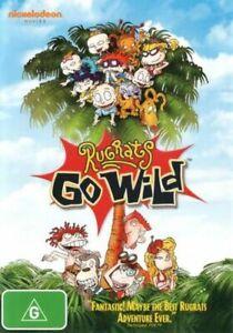 Rugrats Go Wilds -Rare DVD NEW SEALED Region 4