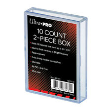 Ultra PRO 10 Count (10ct) Card Storage Box 2-piece Standard Holder