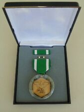 US NAVY & FLEET MARINES UNISSUED CASED NAVY MILITARY COMMENDATION MEDAL SET  #10