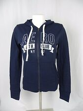 NEW Aeropostale Navy Blue Ath. Club Full Zip Light Sweatshirt Hoodie (A1-12)