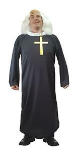 Father Jack Drunk TV Show Priest Vicar Religious Fancy Dress Costume
