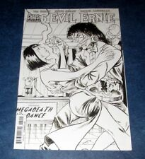 Evil Ernie 6 D 1:10 Tim Seeley B/W sketch variant Dynamite Comic 2015 1st print