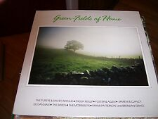 GREEN FIELDS OF HOME-VARIOUS IRISH PERFORMERS-LP-NM-HARMAC-IRISH IMPORT-MAKEM