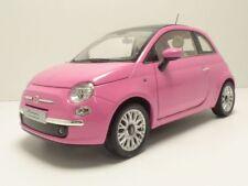 FIAT 500 So PINK 1/18 rose