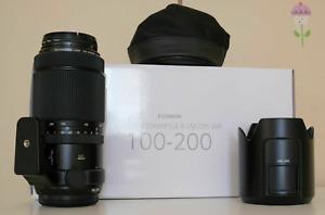 Fujifilm FUJINON GF 100-200mm F/5.6 R LM OIS WR Telephoto Lens