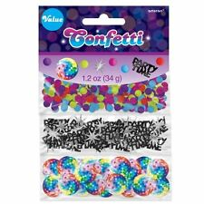 70s Disco 3 Pack Confetti Birthday Celebration Party Table Sprinkles