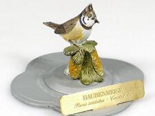 Haefelin Haubenmeise Meise handbemalt Vogel Zinnfigur Gould Skulptur 1403-06-04