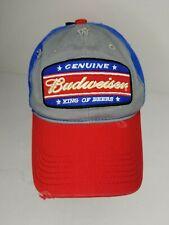 Budweiser 6 Promotional Bud Baseball Caps for Your Beer Bottle New Vintage1990/'s