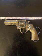Vintage Brass Works Pistol Handgun Revolver Belt Buckle