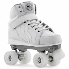 Rollers et patins blancs unisexe