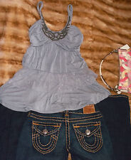Blouse-Sexy   Dress Top Evening  Sz S  MUST HAVE