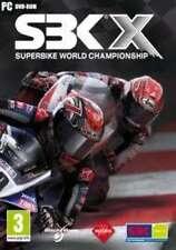 "SBK X SuperBike World Championship (PC DVD) ""BRAND NEW AND SEALED"""