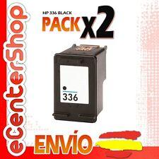 2 Cartuchos Tinta Negra / Negro HP 336 Reman HP Photosmart C3100 Series