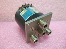 Dynatech Microwave Coaxial Switch 03-113E29F 28VDC NOS