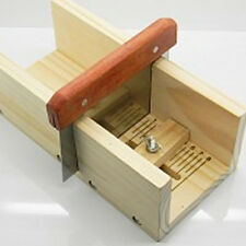 Hard Wooden Loaf Soap Cutter Tools Handmade Precision Cutting Soap Trimming