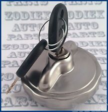 Mat Stainless Steel Locking  Gas Cap Fuel - Tank Filler Cap