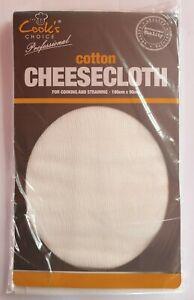 100% COTTON CHEESE CLOTH 180cm X 90cm MUSLIN STRAIN DRAIN STRAINING STEAMING