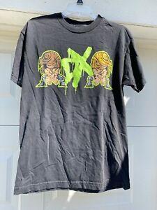 Vintage WWE DX Shirt Cartoon Men's Medium HHH Shawn Michaels