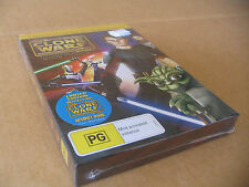STAR WARS :THE CLONE WARS DVD  SEASON 1 LIMITED EDITION ( episode 1- 5 )