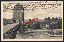 Worms-Ernst Ludwig-Brücke-Rheinland-Pfalz-kunstkarte-1916-Feldpost-1.wk-5