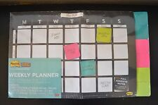 Post-it Weekly Planner with Full Adhesive Notes