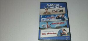 New 4-Movie Laugh Pack DVD Liar Liar Bruce Almighty Happy Gilmore Billy Madison