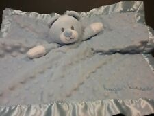"""New Baby Starters Bear Security Blanket with Dots /""""My little love/"""""""