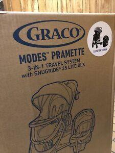 Graco - Modes Pramette Travel System - Ellington Brand New