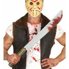 Deluxe Jason Hockey Mask Friday 13th Halloween Adult Fancy Dress