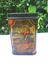 RARE ANTIQUE BISCUIT TIN  HANNAY OF MANCHESTER 1885