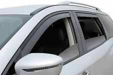 4-Piece In-Channel Wind Deflector Shades for a 2013 - 2017 Nissan Pathfinder