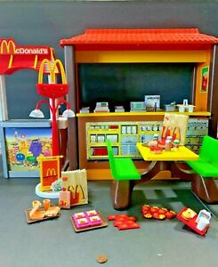 1982 McDonald's Playset with Accessories, Decals - ? Barbie - See Pictures