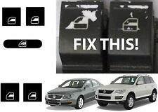 Replacement Power Window Switch Decals For 2005-2010 VW Jetta Passat Touareg New