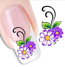 FD1645 3D Design Beauty Nail Stickers Nail Art DIY Flower Flora Stickers Decals
