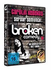 CAROLIN/SOMUNCU,SERDAR KEBEKUS-BROKEN COMEDY-DIE KOMPLETTE KULTSHOW (4 DVDS)NEU