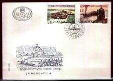 1904 - Yugoslavia 1981 - European Danube Commission - FDC