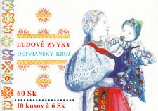 Slowakei / Slovensko Nr. MH 0-40 / 10 x 389** Tracht aus Detva