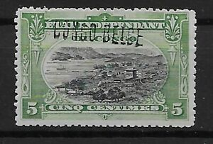 Congo - 1909 - COB 30L** - SCOTT 31a - Handstamped - MNH -