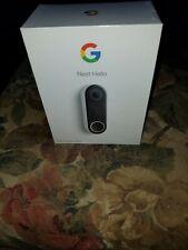 Nest Hello Smart Wi-fi Video Doorbell (NC5100US) - Brand New Sealed