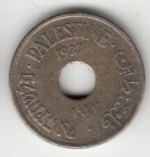 PALESTINE 10 MILS 1927           119J      BY COINMOUNTAIN