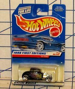 Mattel Hot Wheels '32 Ford Hot Rod 1998 First Editions No. 18587 MOC