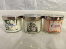 3 NEW - Bath & Body Works Slatkin 1.3oz Candles