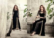 Asiatico/indiano/pakistano di marca cucite Da Sposa Salwar Kameez Suit