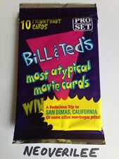 1991 Bill and Ted's Most Atypical Movie Cards unopened Pack PRO SET Rare (#50)