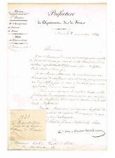 RAMBUTEAU COMMANDE UN TABLEAU A ALEXANDRE COLIN POUR ST NICOLAS DES CHAMPS 1841