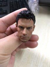 "Custom 1/6th Chris Redfield Head Carving Resident Evil For 12"" male Body Dolls"