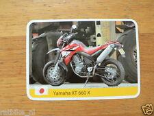 INFO CARD MOTORCYCLE YAMAHA XT 660X