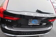 REAR BUMPER TOP PROTECTOR FITS 2018 2019 VOLVO V90 V 90 WAGON FACTORY STYLE