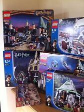 Harry potter lego 4754 hagrids Hut 100% complet 1st édition